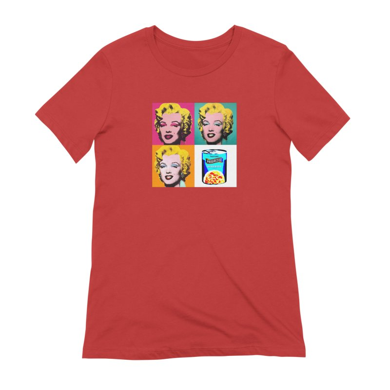 Pop Art Progress Women's Extra Soft T-Shirt by Not Bad Tees