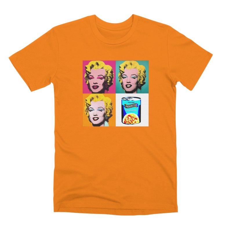 Pop Art Progress Men's Premium T-Shirt by Not Bad Tees