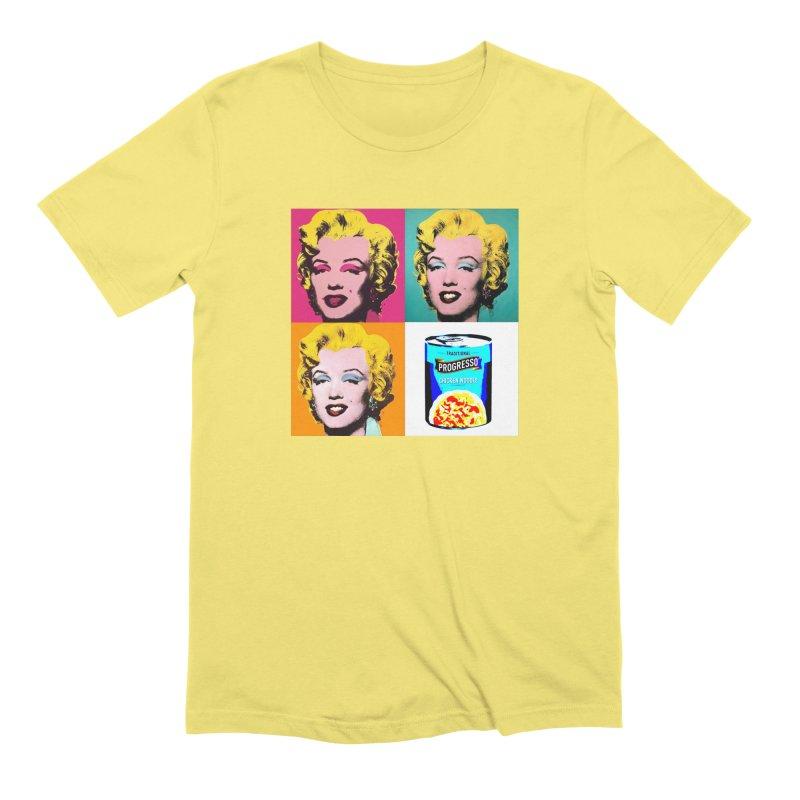 Pop Art Progress Men's Extra Soft T-Shirt by Not Bad Tees