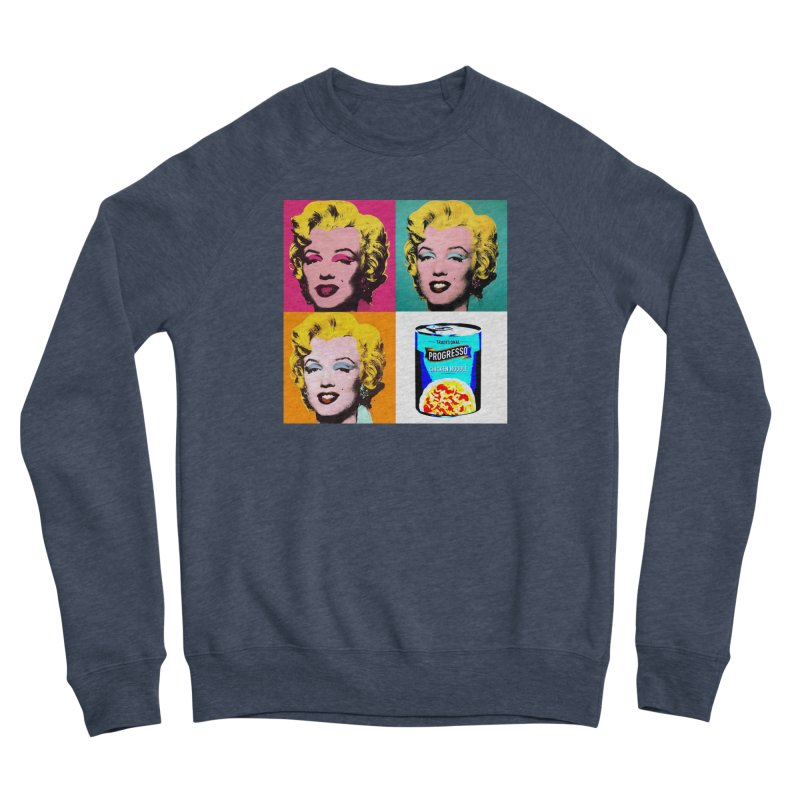 Pop Art Progress Women's Sponge Fleece Sweatshirt by Not Bad Tees