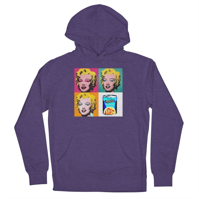 Pop Art Progress Women's French Terry Pullover Hoody by Not Bad Tees