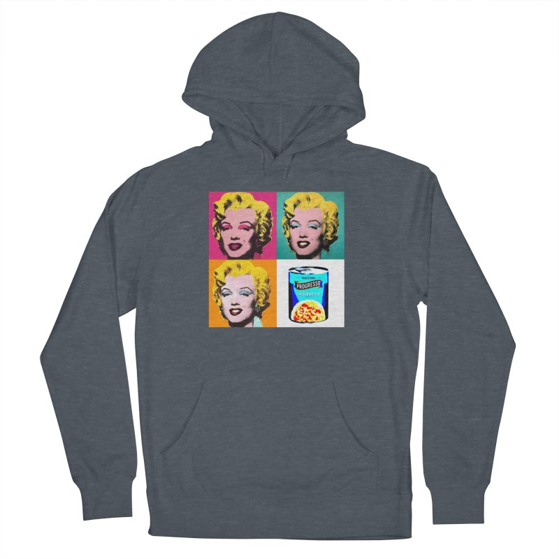 Pop Art Progress Men's French Terry Pullover Hoody by Not Bad Tees