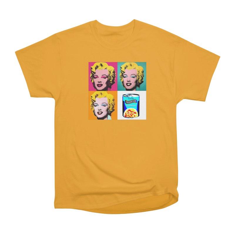 Pop Art Progress Women's Heavyweight Unisex T-Shirt by Not Bad Tees