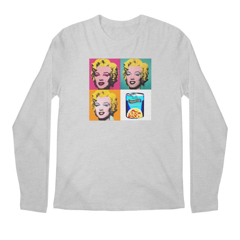 Pop Art Progress Men's Regular Longsleeve T-Shirt by Not Bad Tees