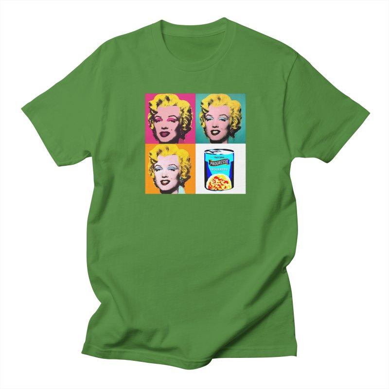 Pop Art Progress Women's Regular Unisex T-Shirt by Not Bad Tees