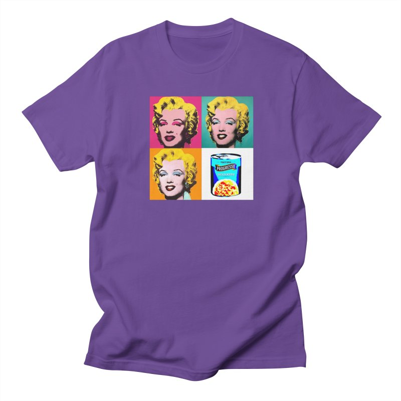 Pop Art Progress Men's Regular T-Shirt by Not Bad Tees