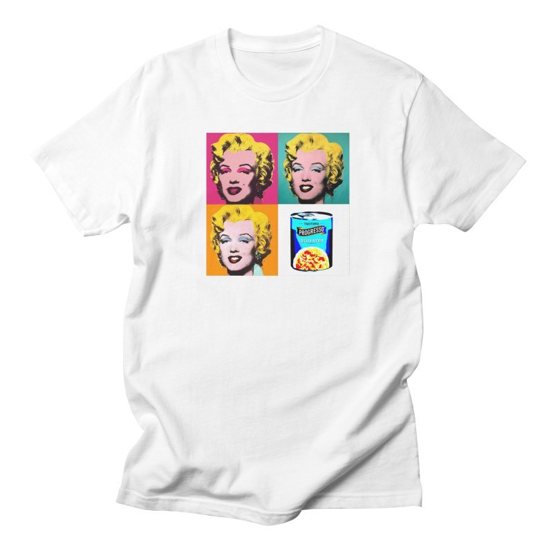 Pop Art Progress Women's Regular Unisex T-Shirt by Not Bad Tees
