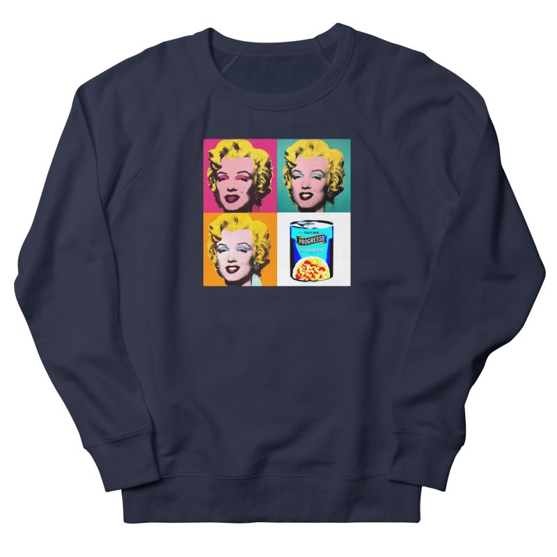 Pop Art Progress Women's French Terry Sweatshirt by Not Bad Tees