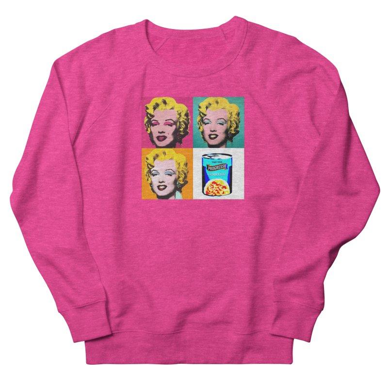 Pop Art Progress Men's French Terry Sweatshirt by Not Bad Tees