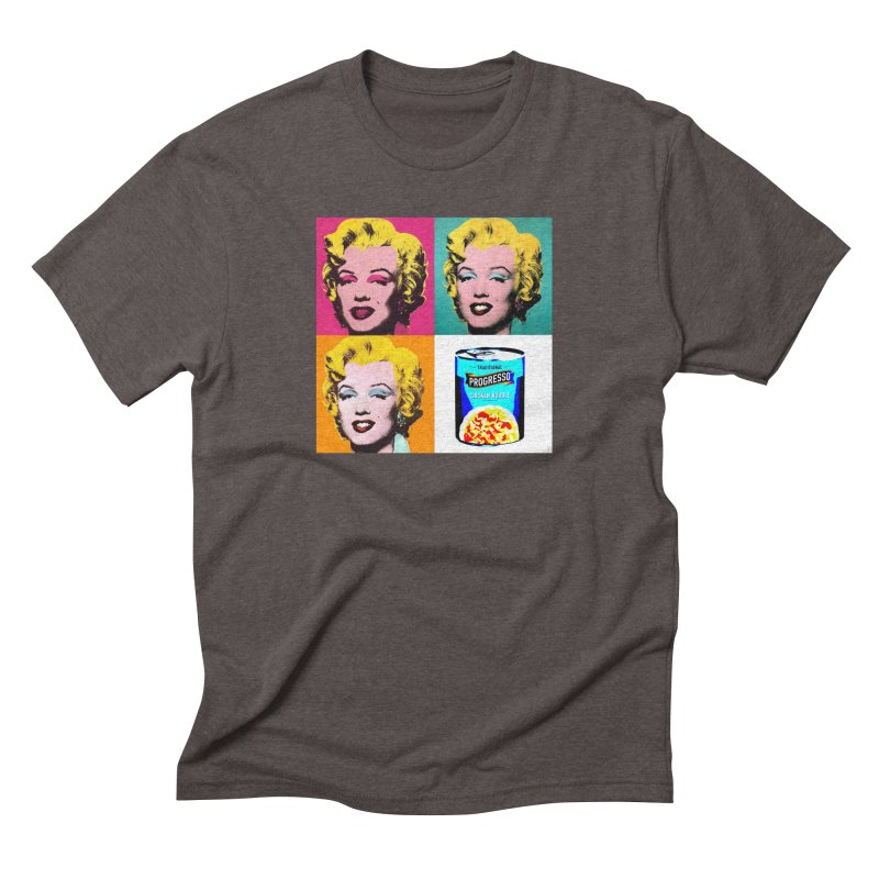 Pop Art Progress Men's Triblend T-Shirt by Not Bad Tees