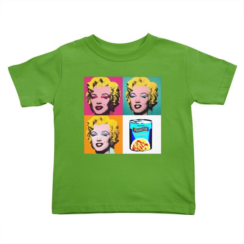 Pop Art Progress Kids Toddler T-Shirt by Not Bad Tees