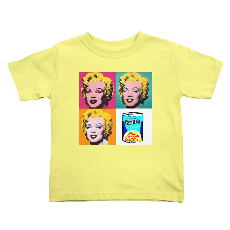 Pop Art Progress Kids Toddler T-Shirt by Not Bad Tees
