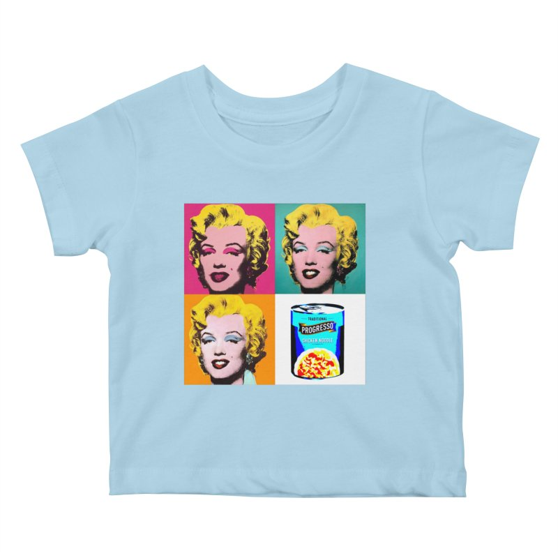 Pop Art Progress Kids Baby T-Shirt by Not Bad Tees