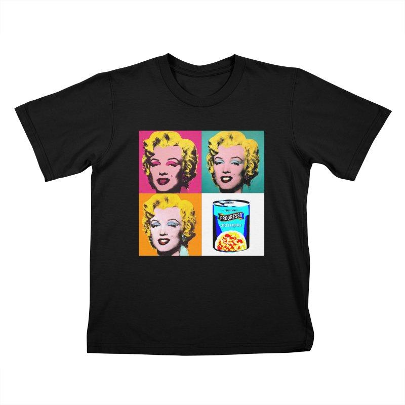 Pop Art Progress Kids T-Shirt by Not Bad Tees