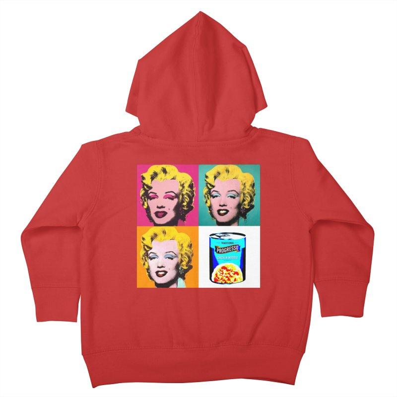 Pop Art Progress Kids Toddler Zip-Up Hoody by Not Bad Tees