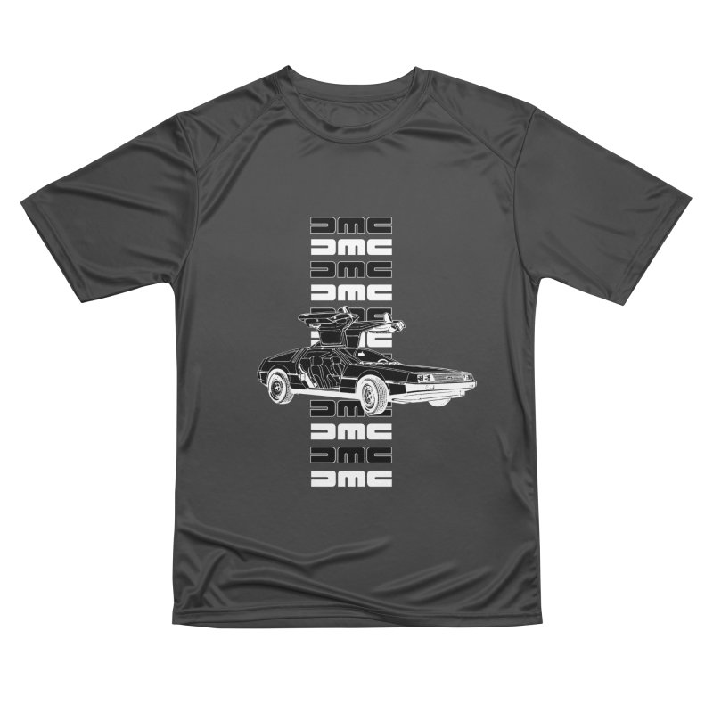 DMC DeLorean Retro Women's Performance Unisex T-Shirt by Not Bad Tees