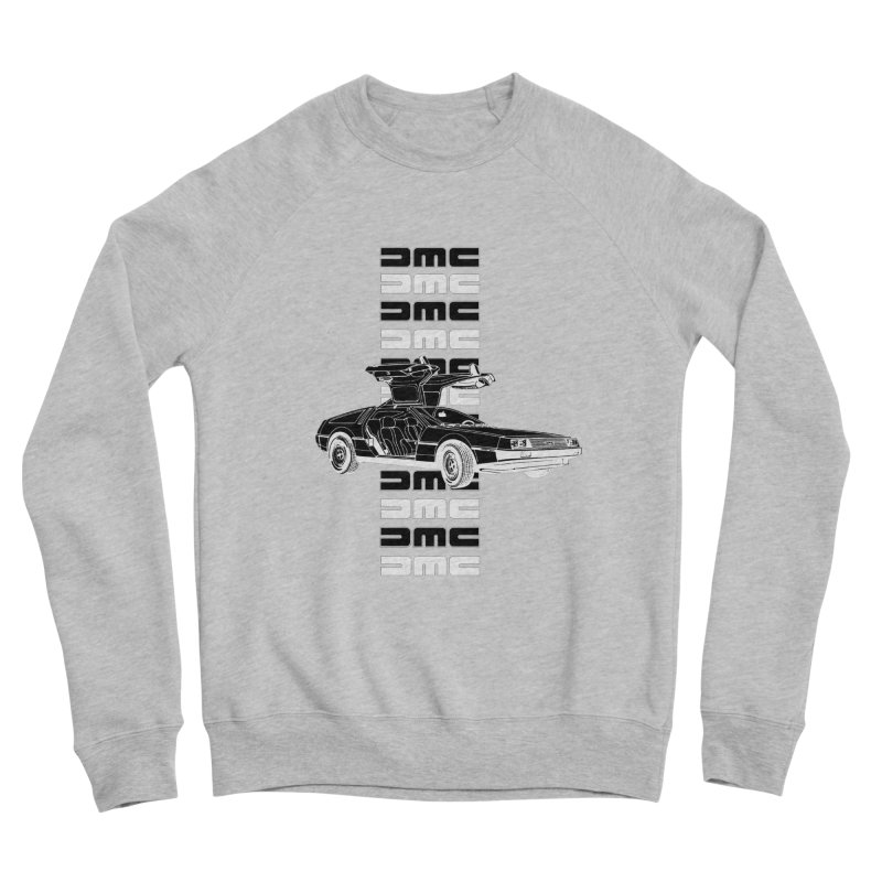 DMC DeLorean Retro Men's Sponge Fleece Sweatshirt by Not Bad Tees