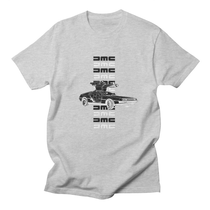 DMC DeLorean Retro Women's Regular Unisex T-Shirt by Not Bad Tees
