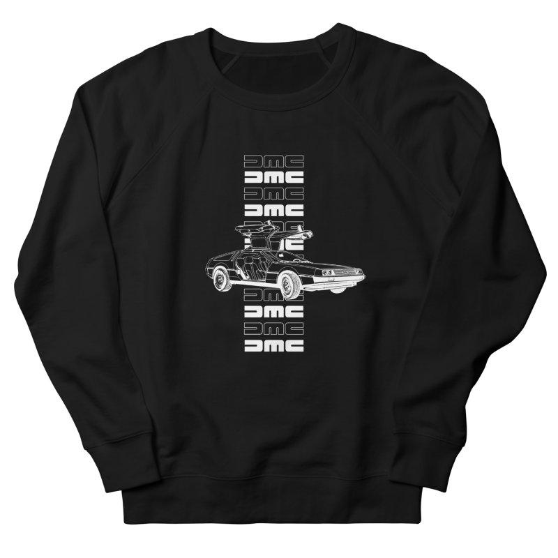 DMC DeLorean Retro Men's French Terry Sweatshirt by Not Bad Tees