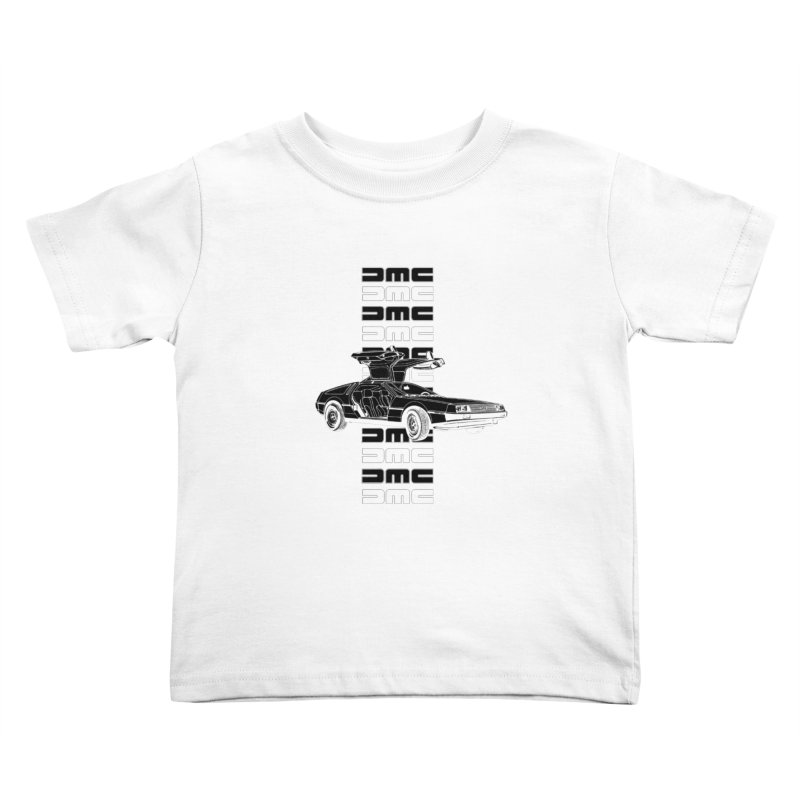 DMC DeLorean Retro Kids Toddler T-Shirt by Not Bad Tees