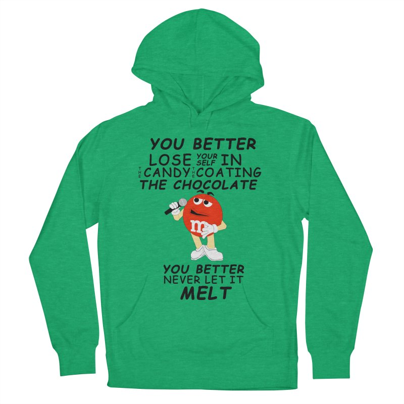 Lose Yourself Men's French Terry Pullover Hoody by Not Bad Tees