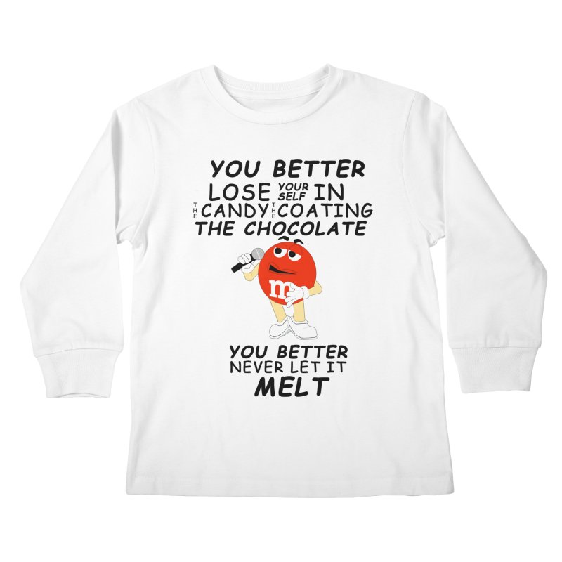 Lose Yourself Kids Longsleeve T-Shirt by Not Bad Tees
