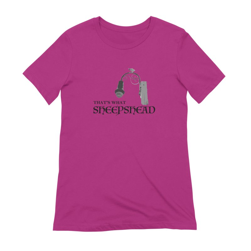That's What Sheepshead Women's Extra Soft T-Shirt by Not Bad Tees