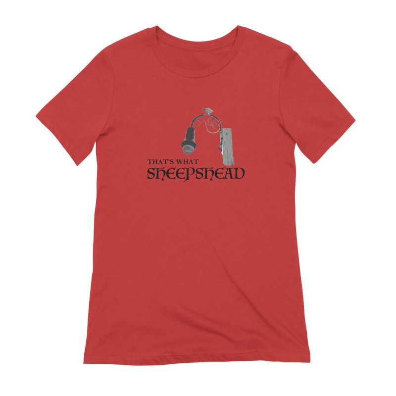 That's What Sheepshead Women's Extra Soft T-Shirt by NotBadTees's Artist Shop