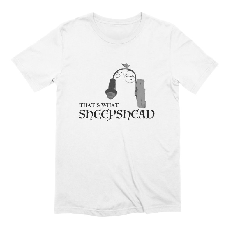 That's What Sheepshead Men's Extra Soft T-Shirt by NotBadTees's Artist Shop