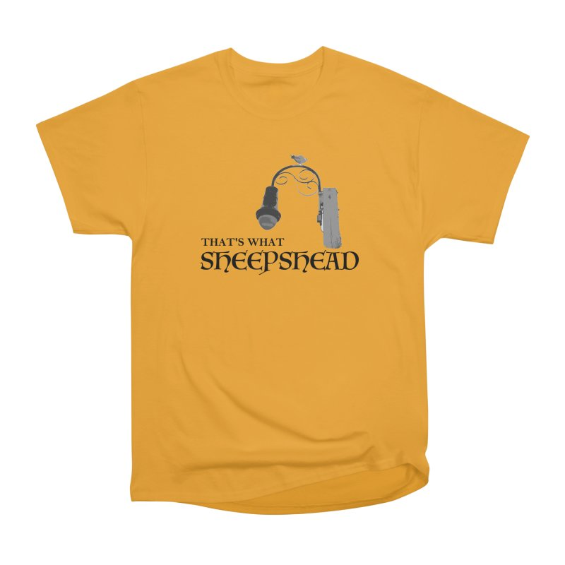 That's What Sheepshead Women's Heavyweight Unisex T-Shirt by Not Bad Tees