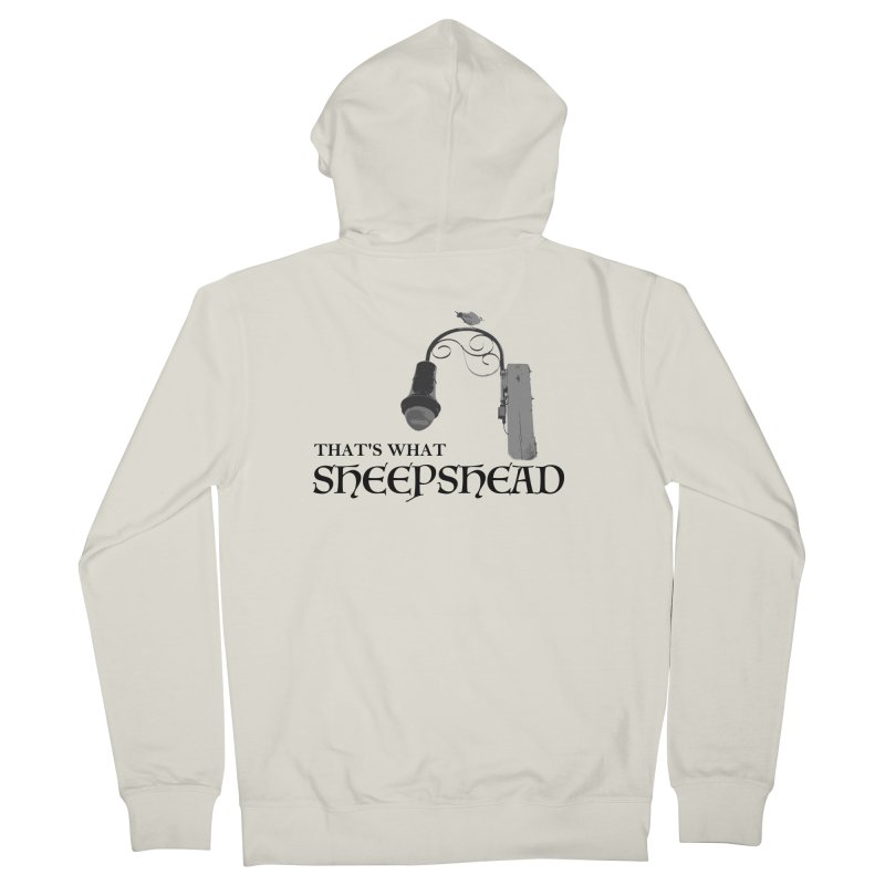 That's What Sheepshead Women's French Terry Zip-Up Hoody by Not Bad Tees