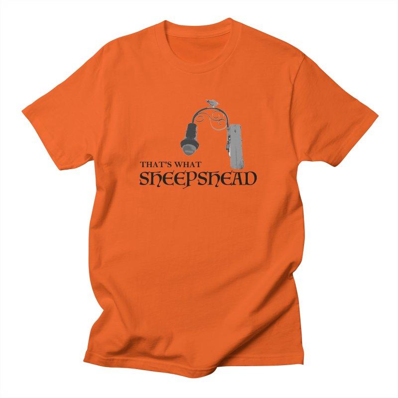 That's What Sheepshead Men's Regular T-Shirt by Not Bad Tees
