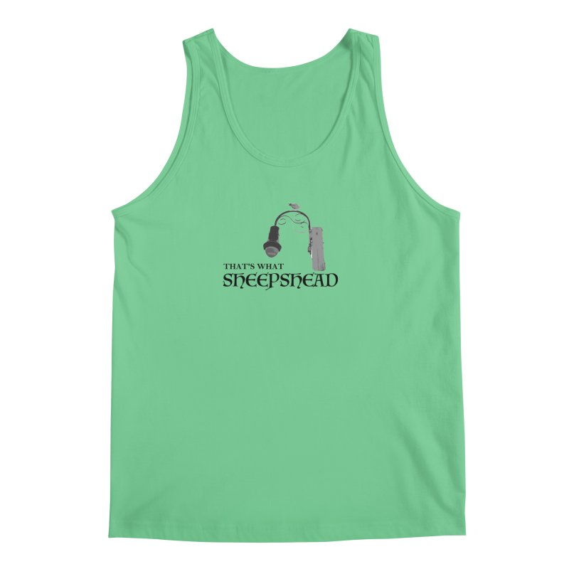 That's What Sheepshead Men's Tank by Not Bad Tees