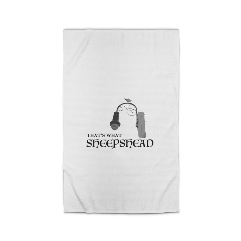 That's What Sheepshead Home Rug by Not Bad Tees