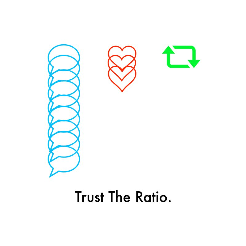 Trust The Ratio Men's Tank by Not Bad Tees