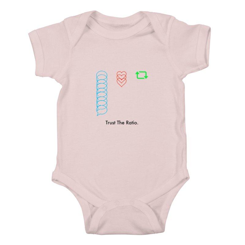 Trust The Ratio Kids Baby Bodysuit by NotBadTees's Artist Shop