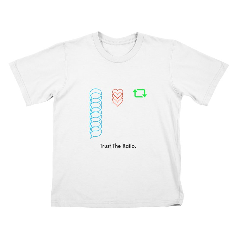 Trust The Ratio Kids T-Shirt by Not Bad Tees