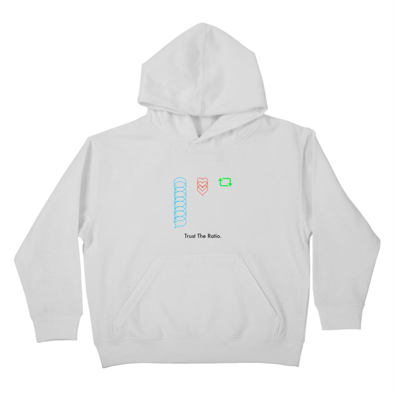 Trust The Ratio Kids Pullover Hoody by Not Bad Tees
