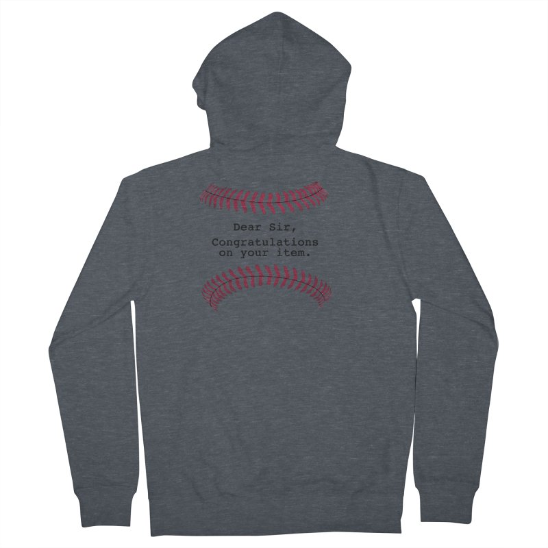 Lowball Men's French Terry Zip-Up Hoody by NotBadTees's Artist Shop