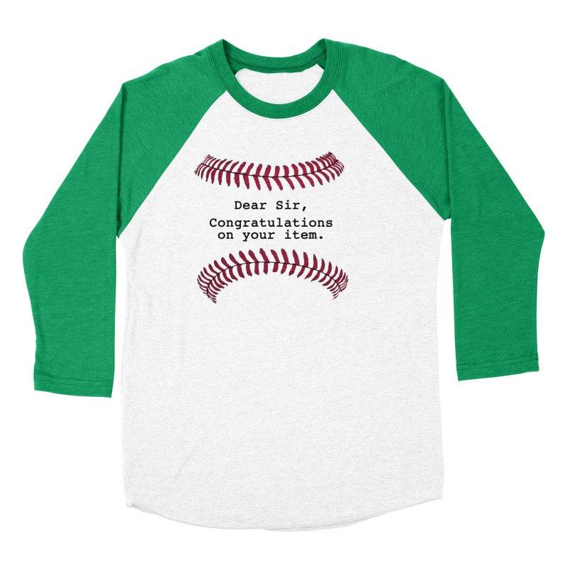 Lowball Men's Baseball Triblend Longsleeve T-Shirt by NotBadTees's Artist Shop