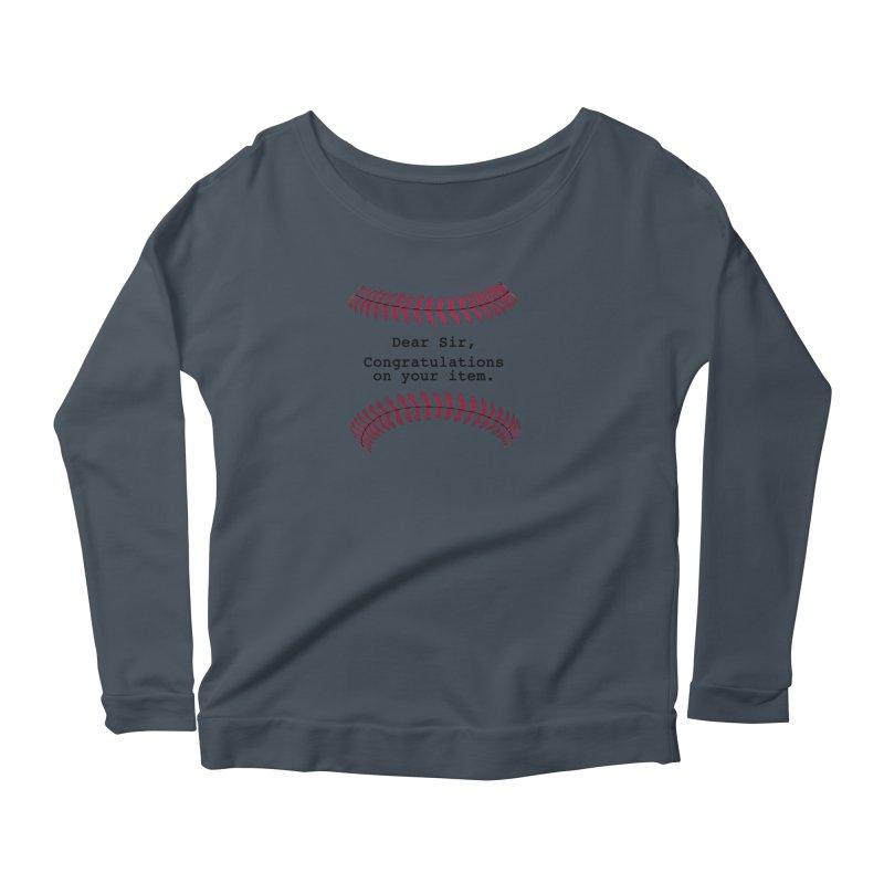 Lowball Women's Scoop Neck Longsleeve T-Shirt by NotBadTees's Artist Shop