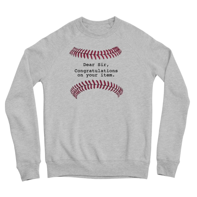 Lowball Men's Sponge Fleece Sweatshirt by Not Bad Tees