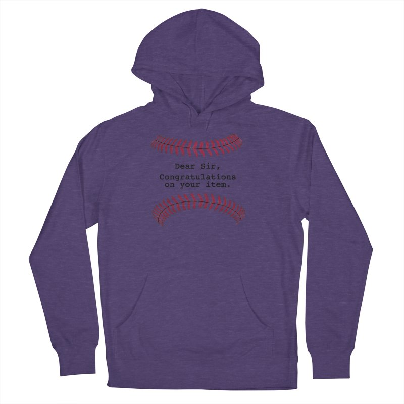 Lowball Men's French Terry Pullover Hoody by Not Bad Tees