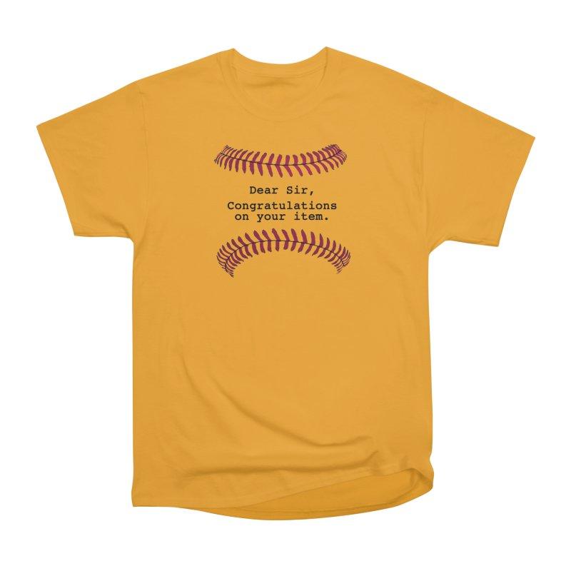 Lowball Men's Heavyweight T-Shirt by Not Bad Tees