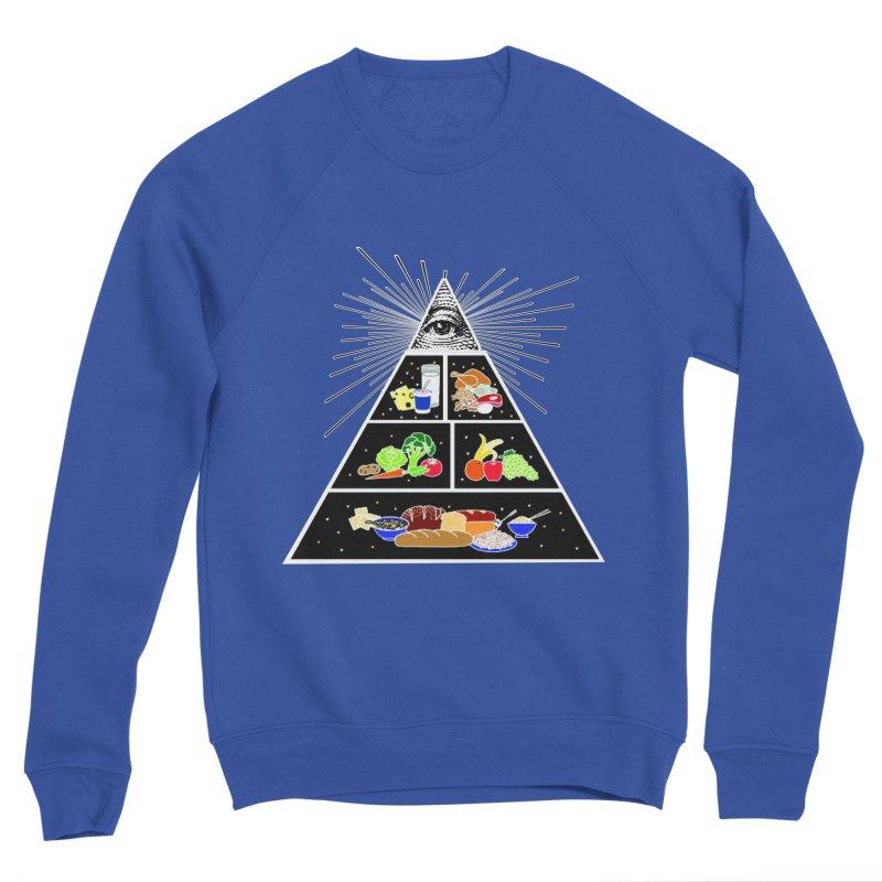 Illuminati Food Pyramid Women's Sweatshirt by Not Bad Tees