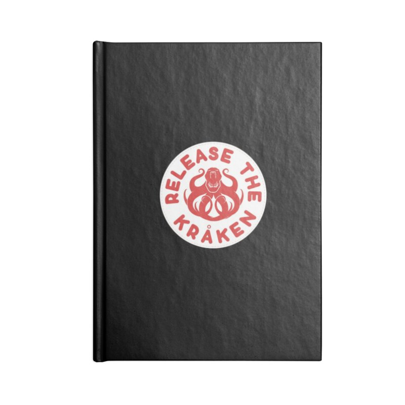 Release the Kraken Accessories Blank Journal Notebook by Not Bad Tees