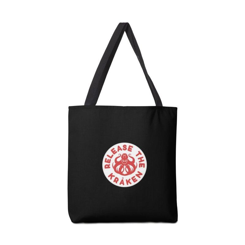 Release the Kraken Accessories Tote Bag Bag by Not Bad Tees