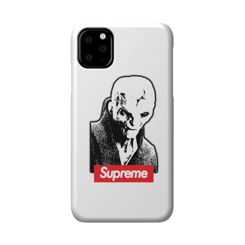 Supreme Leader Accessories Phone Case by Not Bad Tees