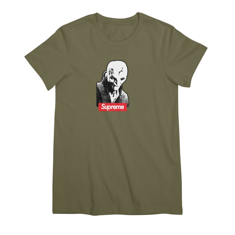 Supreme Leader Women's Premium T-Shirt by Not Bad Tees