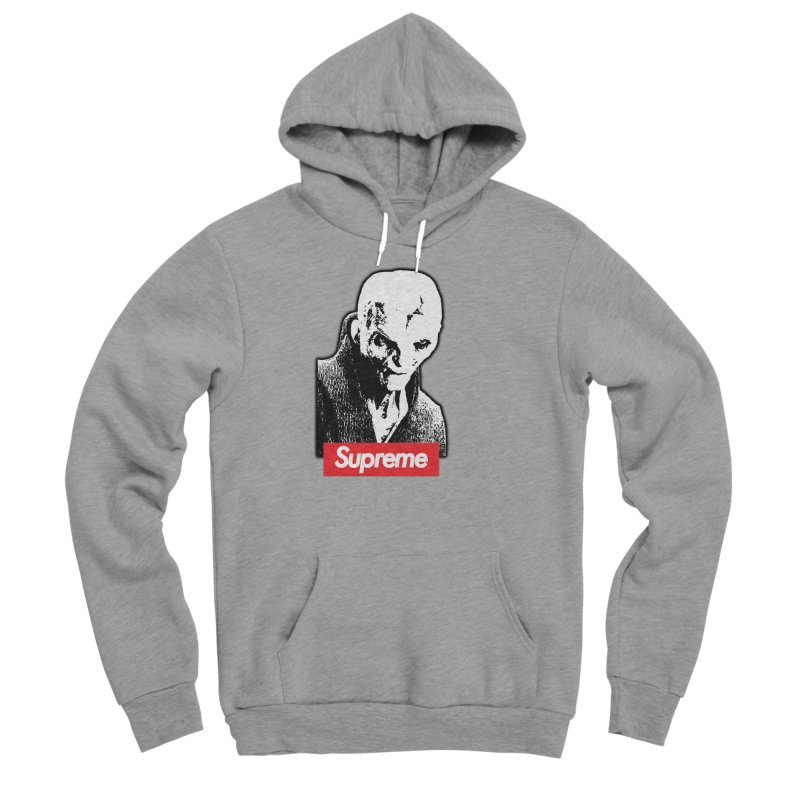 Supreme Leader Men's Sponge Fleece Pullover Hoody by Not Bad Tees